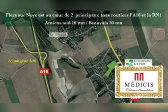 Vente Terrain 80160, Flers-sur-Noye France